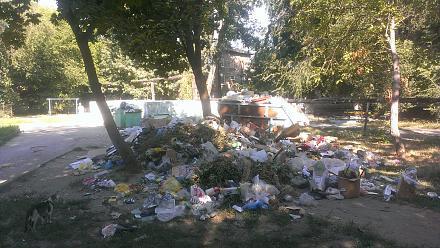 Нажмите на изображение для увеличения Название: Свалка мусора в Тирасполе 2015.jpg Просмотры: 211 Размер:135.4 Кб ID:16830