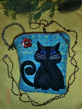 Нажмите на изображение для увеличения Название: Сумочка с котом.jpg Просмотры: 216 Размер:116.5 Кб ID:18134