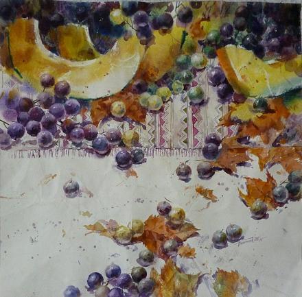 Нажмите на изображение для увеличения Название: Дыня и виноград.jpg Просмотры: 156 Размер:151.2 Кб ID:20857