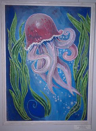Нажмите на изображение для увеличения Название: Медуза - батик.jpg Просмотры: 284 Размер:132.5 Кб ID:17175