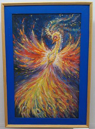 Нажмите на изображение для увеличения Название: Птица счастья. Картина Бабейко Ольги..jpg Просмотры: 266 Размер:125.3 Кб ID:17378