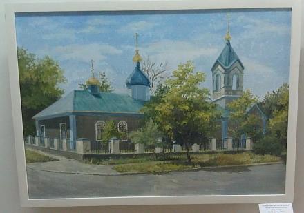 Нажмите на изображение для увеличения Название: Старообрядческая церковь в Тирасполе. Картина Гуцул Светланы..jpg Просмотры: 287 Размер:68.2 Кб ID:17380