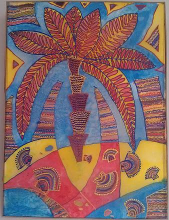Нажмите на изображение для увеличения Название: Чудо остров - батик.jpg Просмотры: 260 Размер:123.9 Кб ID:18886