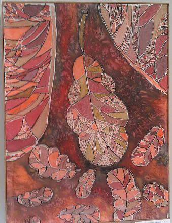 Нажмите на изображение для увеличения Название: Осенний лист - батик.jpg Просмотры: 258 Размер:128.4 Кб ID:18890