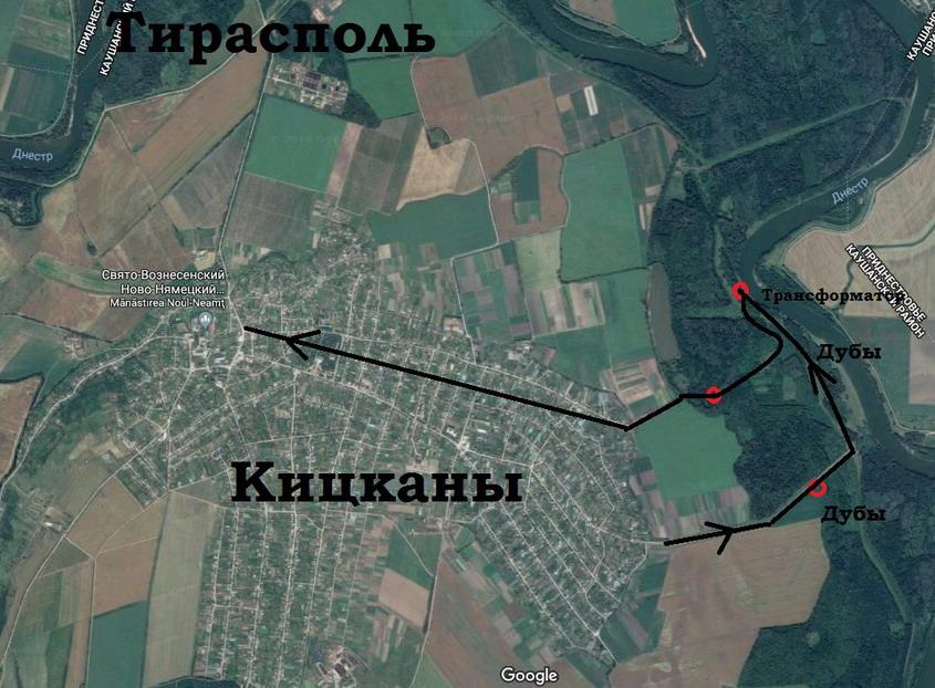 Название: Кицканы карта дубов.JPG Просмотры: 164  Размер: 176.1 Кб