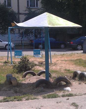 Нажмите на изображение для увеличения Название: Грибок на детской площадке.jpg Просмотры: 300 Размер:110.6 Кб ID:16592