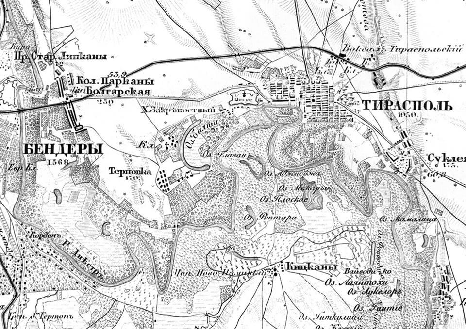 Название: Карта лесов Днестра - 19 век.jpg Просмотры: 183  Размер: 177.0 Кб