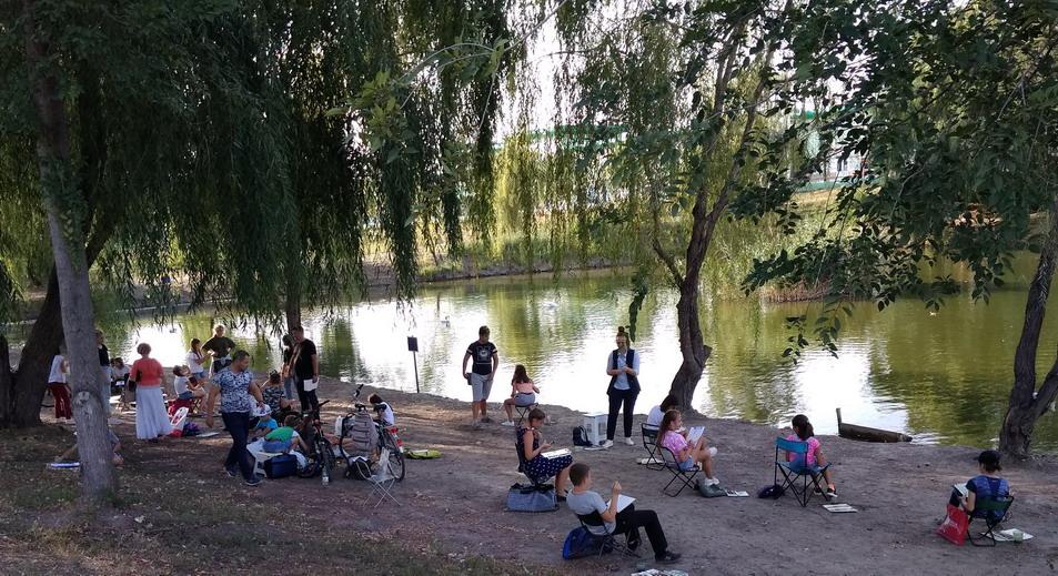 Название: Художники у озера.jpg Просмотры: 1459  Размер: 248.3 Кб