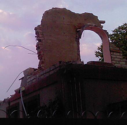 Нажмите на изображение для увеличения Название: Странный ремонт здания в Тирасполе.jpg Просмотры: 808 Размер:38.0 Кб ID:12395