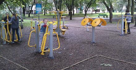 Нажмите на изображение для увеличения Название: Тренажеры в парке Кишинева.jpg Просмотры: 268 Размер:137.8 Кб ID:19153