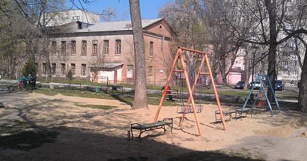 Нажмите на изображение для увеличения Название: Детская площадка в песке.jpg Просмотры: 397 Размер:109.2 Кб ID:21359