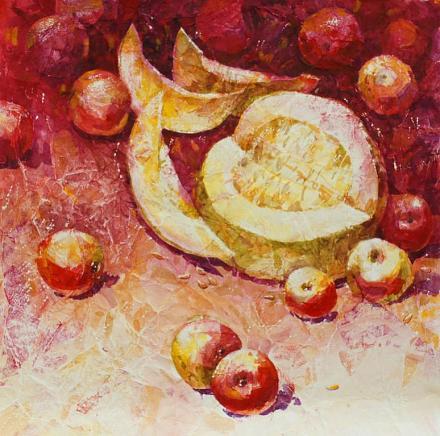 Нажмите на изображение для увеличения Название: Дыня и яблоки.jpg Просмотры: 223 Размер:97.2 Кб ID:13758