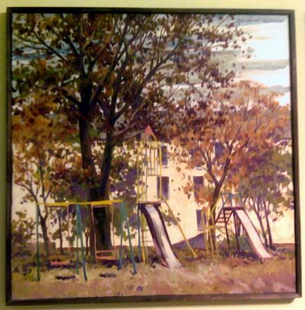 Нажмите на изображение для увеличения Название: Детская площадка - картина.jpg Просмотры: 215 Размер:136.5 Кб ID:14111