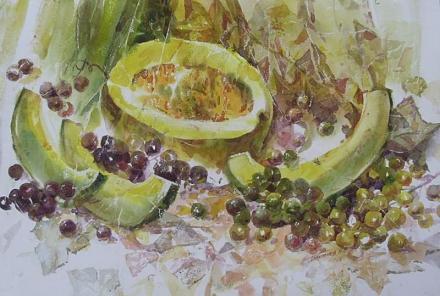 Нажмите на изображение для увеличения Название: Дыня и виноград.jpg Просмотры: 225 Размер:68.7 Кб ID:14677