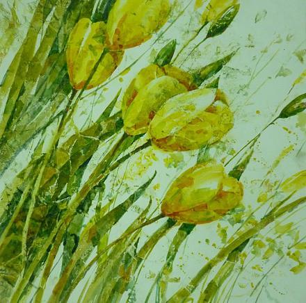 Нажмите на изображение для увеличения Название: Желтые тюльпаны Болтнева.jpg Просмотры: 100 Размер:133.8 Кб ID:20863