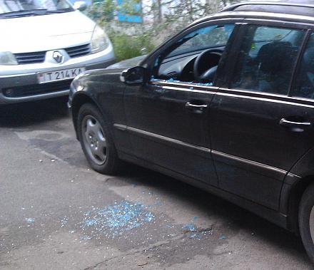 Нажмите на изображение для увеличения Название: Авто с выбитым стеклом.jpg Просмотры: 359 Размер:108.1 Кб ID:16767