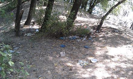 Нажмите на изображение для увеличения Название: Пляж у Днестра в мусоре.jpg Просмотры: 819 Размер:159.4 Кб ID:16479