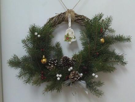 Нажмите на изображение для увеличения Название: Рождественский венок.jpg Просмотры: 175 Размер:78.3 Кб ID:20490