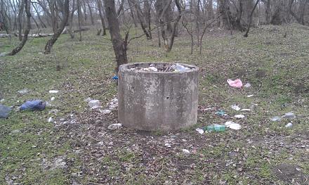 Нажмите на изображение для увеличения Название: Бетонный сборник мусора.jpg Просмотры: 225 Размер:143.2 Кб ID:21199