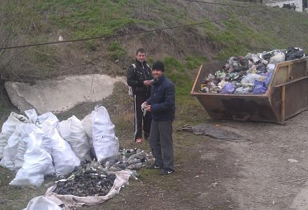 Нажмите на изображение для увеличения Название: Весь собранный мусор с берега Днестра - март 2017.jpg Просмотры: 250 Размер:101.6 Кб ID:21201