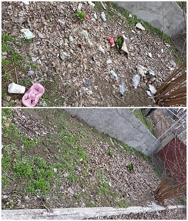Нажмите на изображение для увеличения Название: До и после уборки мусора.jpg Просмотры: 267 Размер:284.4 Кб ID:21208