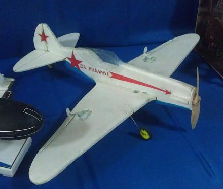 Нажмите на изображение для увеличения Название: Модель самолета.jpg Просмотры: 208 Размер:64.8 Кб ID:21348