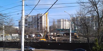 Нажмите на изображение для увеличения Название: Строительство в центре Тирасполя.jpg Просмотры: 366 Размер:64.7 Кб ID:15062