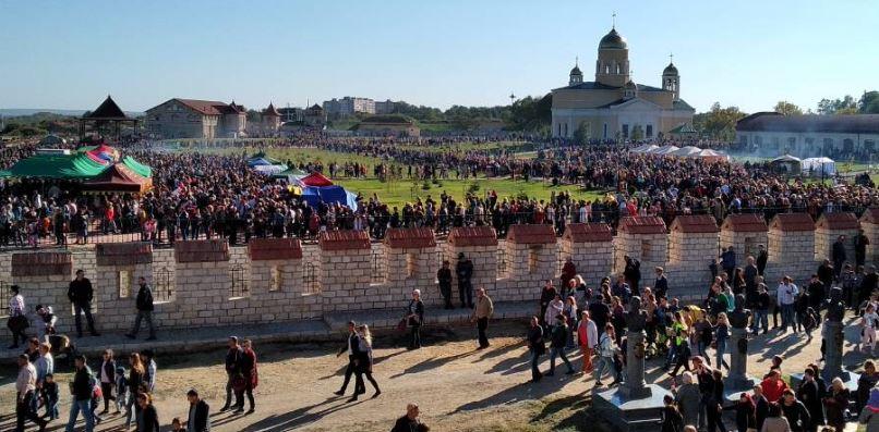Название: Открытие парка в Бендерской крепости.JPG Просмотры: 58  Размер: 87.7 Кб