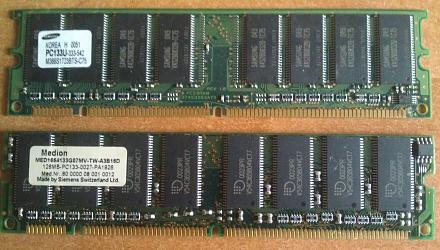 Нажмите на изображение для увеличения Название: PC133U SDRAM.jpg Просмотры: 255 Размер:96.7 Кб ID:20907