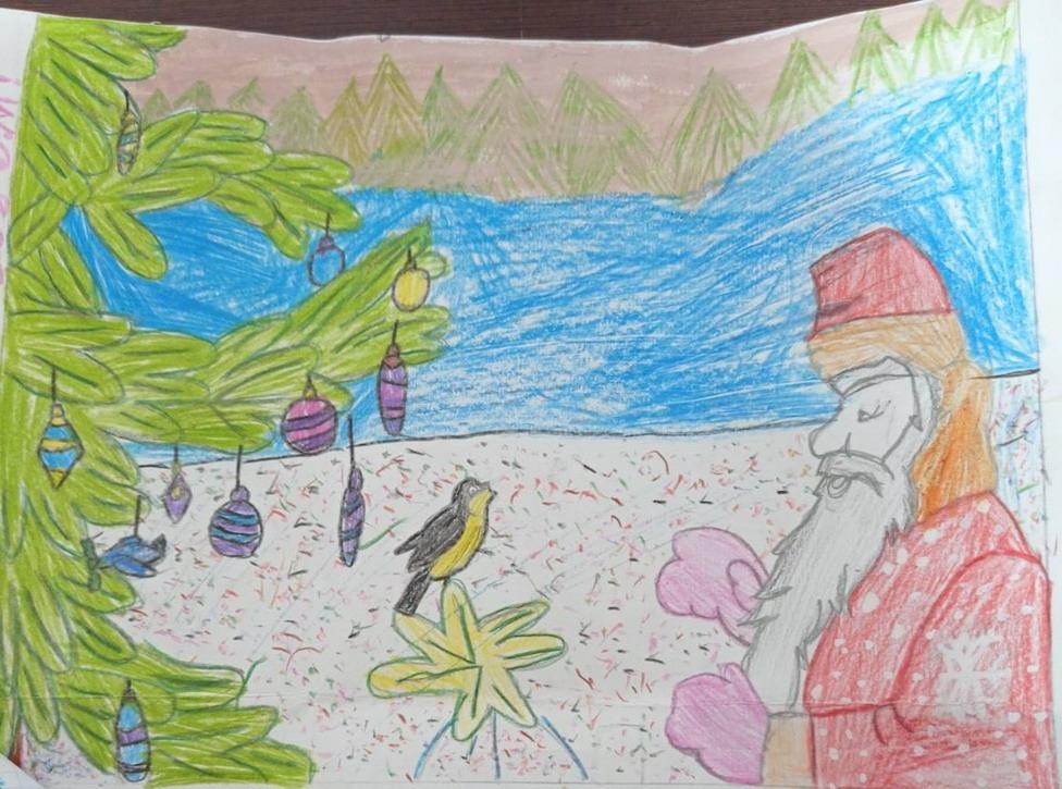 Название: 7 рисунок Деду МОрозу в ПМР Карагаш.jpg Просмотры: 194  Размер: 224.0 Кб