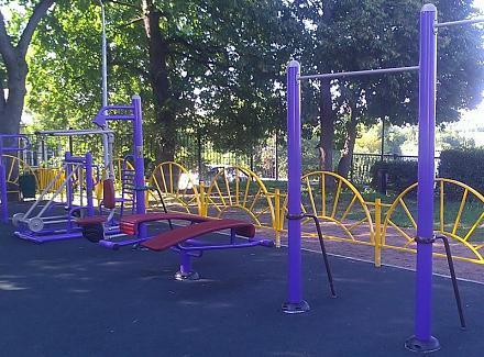 Нажмите на изображение для увеличения Название: Спортивный сектор на детской площадке в РФ.jpg Просмотры: 427 Размер:113.2 Кб ID:14026
