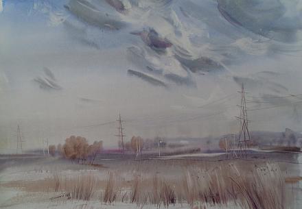 Нажмите на изображение для увеличения Название: Картина Болтнева - За городом.jpg Просмотры: 154 Размер:55.7 Кб ID:20868
