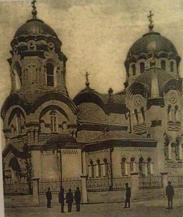 Нажмите на изображение для увеличения Название: Никольский собор в Тирасполе. Начало 20 в..jpg Просмотры: 524 Размер:71.5 Кб ID:16009