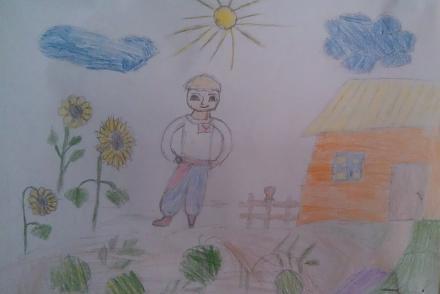 Нажмите на изображение для увеличения Название: Мальчик у дома, Украина.jpg Просмотры: 283 Размер:38.9 Кб ID:21148