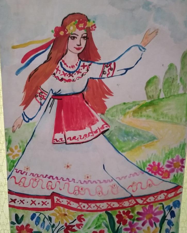 Название: Рисунок украинской девушки.jpg Просмотры: 509  Размер: 165.2 Кб