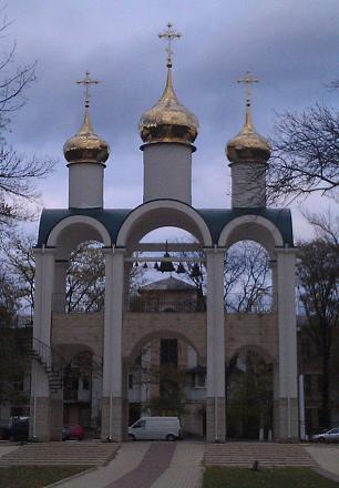 Нажмите на изображение для увеличения Название: Часовня в парке Кирова.jpg Просмотры: 542 Размер:81.1 Кб ID:17324