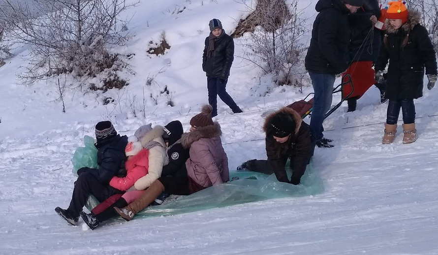 Название: Катание на пакете по снегу.jpg Просмотры: 1363  Размер: 154.4 Кб