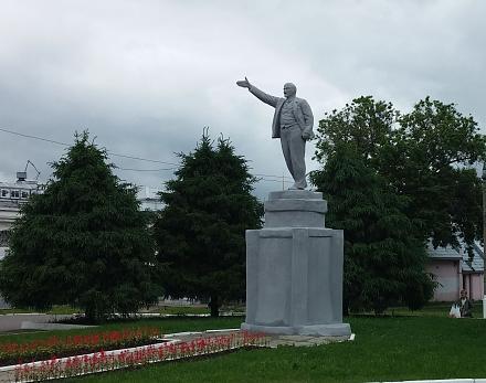 Нажмите на изображение для увеличения Название: Памятник Ленину в Коломне.jpg Просмотры: 301 Размер:95.8 Кб ID:22427