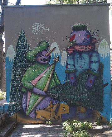 Нажмите на изображение для увеличения Название: Графити в Варне.jpg Просмотры: 101 Размер:128.7 Кб ID:19108