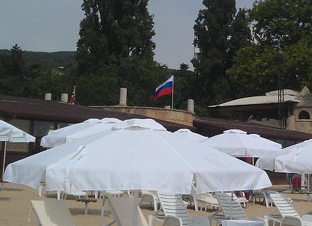 Нажмите на изображение для увеличения Название: Золотые пески - российский флаг.jpg Просмотры: 102 Размер:84.5 Кб ID:19142