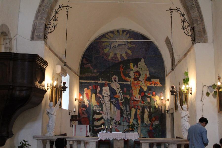 Название: Церковь Святого Иоанна в Будве - алтарь.JPG Просмотры: 131  Размер: 166.6 Кб