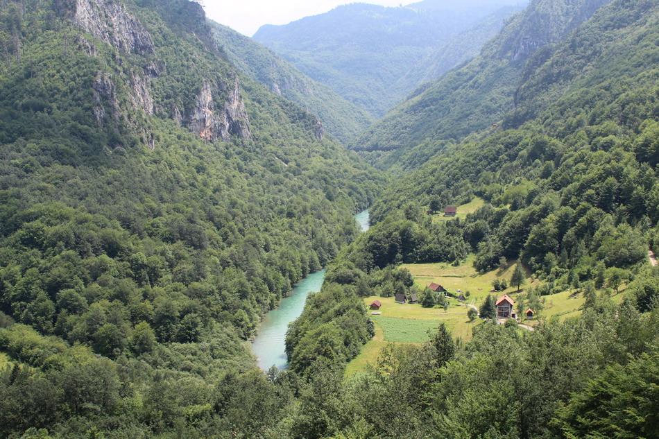 Название: Вид на Тару с моста Джурджевича.JPG Просмотры: 524  Размер: 307.3 Кб