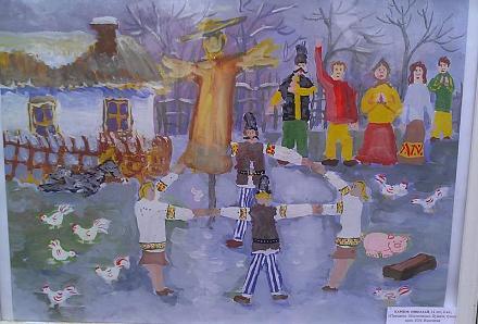 Нажмите на изображение для увеличения Название: Масленица в Молдавии - картина.jpg Просмотры: 336 Размер:71.7 Кб ID:13135