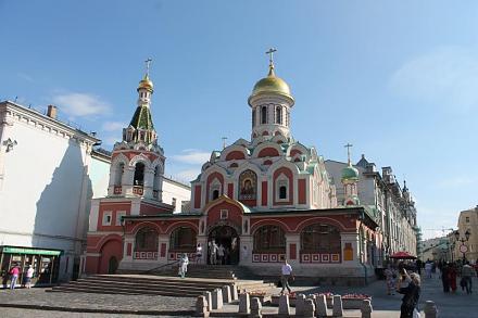 Нажмите на изображение для увеличения Название: Собор Казанской Иконы Божией Матери на Красной площади.jpg Просмотры: 469 Размер:57.5 Кб ID:14212