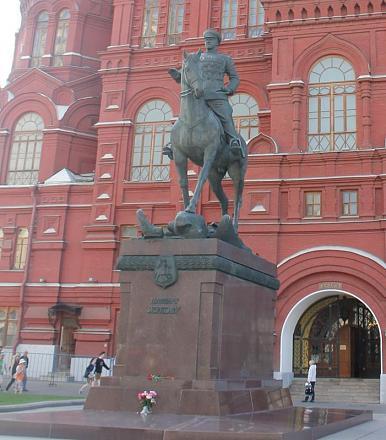 Нажмите на изображение для увеличения Название: Памятник Маршалу Жукову.jpg Просмотры: 311 Размер:81.7 Кб ID:14223