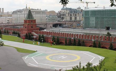 Нажмите на изображение для увеличения Название: Посадочное место для вертолета в Кремле.jpg Просмотры: 319 Размер:69.3 Кб ID:14234