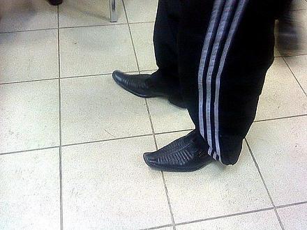 Нажмите на изображение для увеличения Название: Туфли со спортивными штанами.jpeg Просмотры: 8406 Размер:61.4 Кб ID:10252