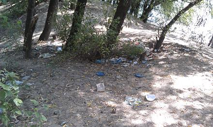 Нажмите на изображение для увеличения Название: Пляж у Днестра в мусоре.jpg Просмотры: 608 Размер:159.4 Кб ID:16479