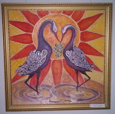 Нажмите на изображение для увеличения Название: Любовь - картина бумага и гушь.jpg Просмотры: 337 Размер:155.3 Кб ID:17182