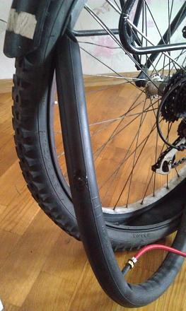Нажмите на изображение для увеличения Название: Камера от колеса в велосипеде.jpg Просмотры: 317 Размер:78.1 Кб ID:16928